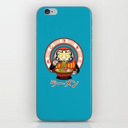 Daruma Zen Ramen iPhone Skin
