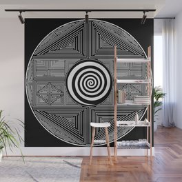 The Center of the World Wall Mural