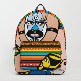 Lucha México Backpack