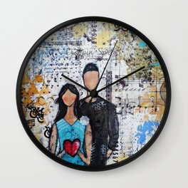 Love and Togetherness Wall Clock