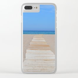 Plage Clear iPhone Case