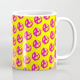 Anarchy Pattern Coffee Mug