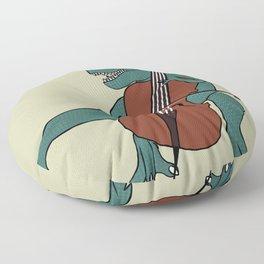 T-Rex Double Bass Floor Pillow