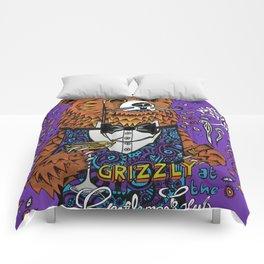 Grizzly Gentleman Comforters