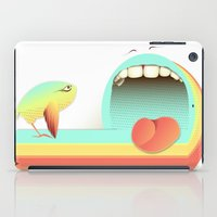 fear iPad Cases featuring Fear by Laima St