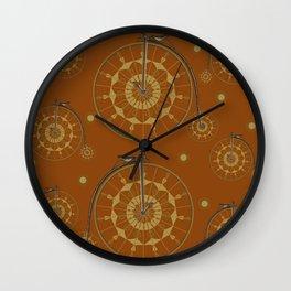 Vintage Bike Wall Clock