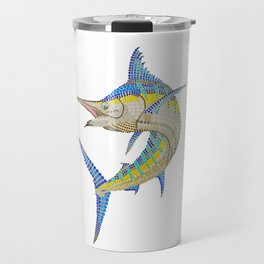Fun Marlin Travel Mug