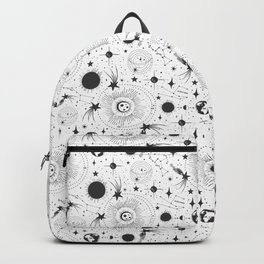 Solar System - White Backpack
