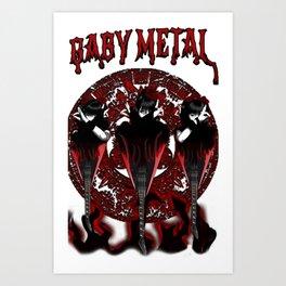 Babymetal Epicness Art Print
