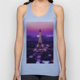 EIFFEL TOWER Unisex Tank Top