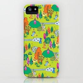 Bunnyland iPhone Case