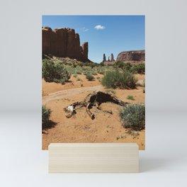 Monument Valley Horse Carcass Mini Art Print