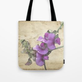 Sweet Pea Tote Bag