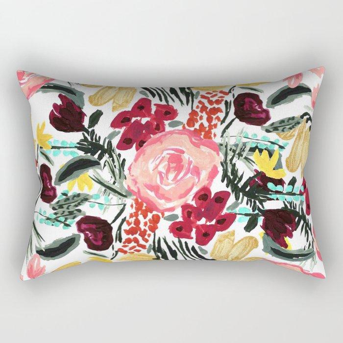 Wild Garden II Rectangular Pillow