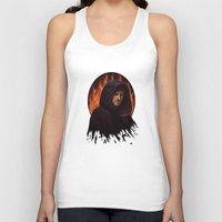 hook Tank Tops featuring Darth Hook by Svenja Gosen