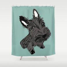 Scottie Shower Curtain