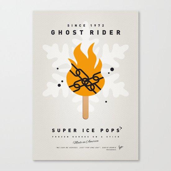 My SUPER ICE POP- No07 Canvas Print