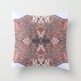 Point of Convergence III Throw Pillow