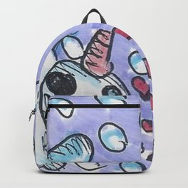 Christmas #3 Snow Shark Attack Backpack