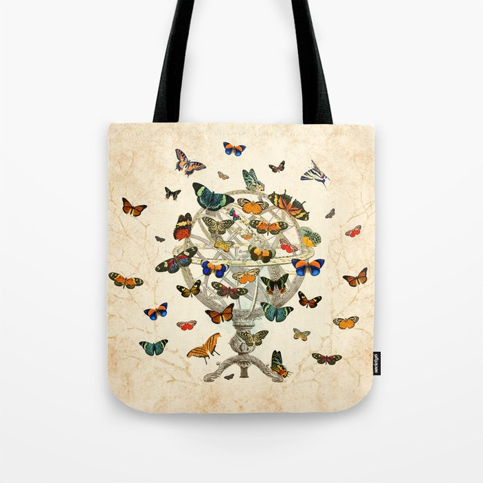 Butterfly House Tote Bag