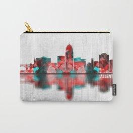 Allentown Pennsylvania Skyline Carry-All Pouch