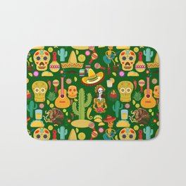 Fiesta Time! Mexican Icons Bath Mat