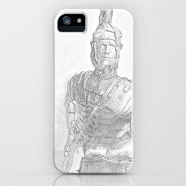 Roman legionnaire iPhone Case