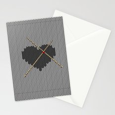 Original Knitted Heart Design Stationery Cards