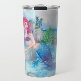 Mermaid Lagoon Travel Mug