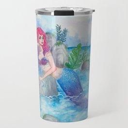 Mermaid Lagoon Travel Mug