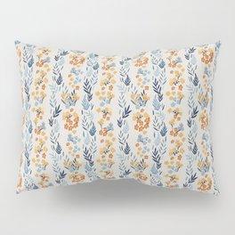 Oleander Floral Pattern Pillow Sham