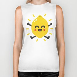 Happy lemon Biker Tank