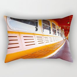 Staten Island Ferry Rectangular Pillow