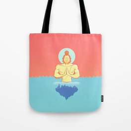 Hanuman Ji : Early morning Meditation  Tote Bag