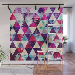 "Retro Geometrical Abstract Design ""Josephine"" inspired Wall Mural"
