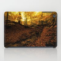 denmark iPad Cases featuring Forest Haslev, Denmark - Autumn by by Henrik Wulff Petersen (zoomphoto)