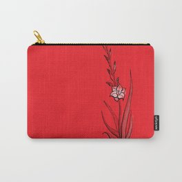 Gladiolus Flower Carry-All Pouch