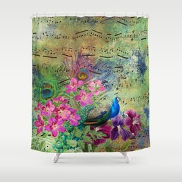 Feather Peacock 18 Shower Curtain