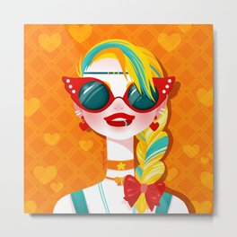 Bitch Please: Sailor Venus Metal Print