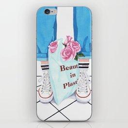 _Beauty in Plastic Bag iPhone Skin