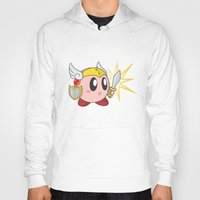 kirby Hoodies featuring Valkyrie Kirby by Mel W.