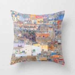Mediterranean journey-Sicily Throw Pillow