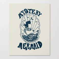 MYSTERY MERMAID Canvas Print