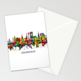 Edinburgh Scotland Skyline Stationery Cards