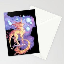 space unicorn Stationery Cards