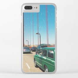 Little Green San Franciscan Clear iPhone Case