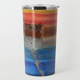 Of the Earth 3 by Nadia J Art Travel Mug