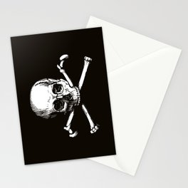 Skull and Crossbones | Jolly Roger Stationery Cards