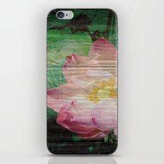 Lotus Woodblock iPhone & iPod Skin