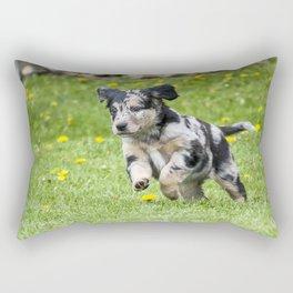 Live Life like a Puppy Rectangular Pillow